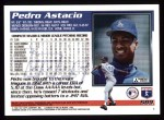 1995 Topps #589  Pedro Astacio  Back Thumbnail