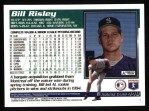 1995 Topps #448  Bill Risley  Back Thumbnail