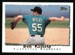 1995 Topps #448  Bill Risley  Front Thumbnail