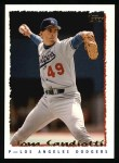 1995 Topps #416  Tom Candiotti  Front Thumbnail