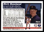 1995 Topps #272  Rich Rowland  Back Thumbnail