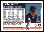 1995 Topps #43  Pete Smith  Back Thumbnail