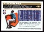 1996 Topps #38  Tim Belcher  Back Thumbnail