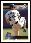 1996 Topps #109  Tony Castillo  Front Thumbnail
