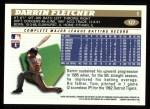 1996 Topps #127  Darrin Fletcher  Back Thumbnail