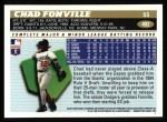 1996 Topps #402  Chad Fonville  Back Thumbnail