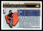 1996 Topps #398  C.J. Nitkowski  Back Thumbnail