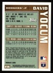 1996 Topps #236   -  David Yocum Draft Pick Back Thumbnail