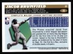 1996 Topps #72  Jacob Brumfield  Back Thumbnail