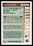 1996 Topps #22  Mark Bellhorn  Back Thumbnail