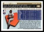 1996 Topps #366  Jose Lima  Back Thumbnail