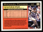 1997 Topps #453  Michael Tucker  Back Thumbnail