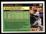 1997 Topps #93  Derek Bell  Back Thumbnail