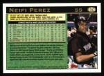 1997 Topps #474  Neifi Perez  Back Thumbnail