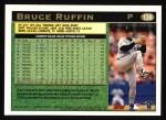 1997 Topps #136  Bruce Ruffin  Back Thumbnail