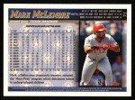 1998 Topps #71  Mark McLemore  Back Thumbnail