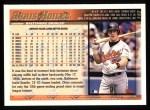 1998 Topps #142  Chris Hoiles  Back Thumbnail