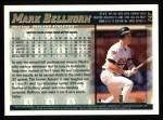 1998 Topps #347  Mark Bellhorn  Back Thumbnail