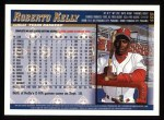 1998 Topps #408  Roberto Kelly  Back Thumbnail