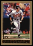 1998 Topps #91  Brady Anderson  Front Thumbnail