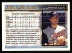 1998 Topps #129  Jason Dickson  Back Thumbnail