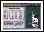 1998 Topps #222  Jose Offerman  Back Thumbnail