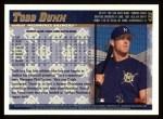 1998 Topps #435  Todd Dunn  Back Thumbnail