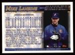 1998 Topps #136  Mike Lansing  Back Thumbnail