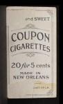 1914 Coupon T213 #69 CIN Red Ames  Back Thumbnail