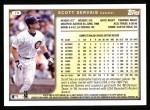 1999 Topps #79  Scott Servais  Back Thumbnail