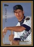 1999 Topps #253  Steve Finley  Front Thumbnail