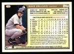 1999 Topps #165  David Dellucci  Back Thumbnail