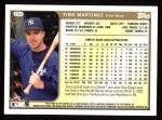 1999 Topps #290  Tino Martinez  Back Thumbnail
