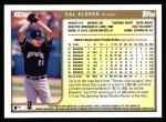 1999 Topps #135  Cal Eldred  Back Thumbnail