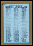1999 Topps #242   Checklist 2 Front Thumbnail