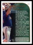 1999 Topps #203   -  Roger Clemens  Highlights Back Thumbnail