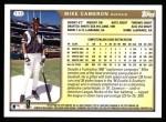 1999 Topps #173  Mike Cameron  Back Thumbnail