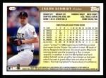 1999 Topps #168  Jason Schmidt  Back Thumbnail