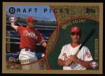 1999 Topps #444  Pat Burrell / Eric Valent  Front Thumbnail