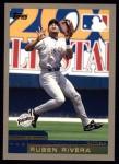 2000 Topps #394  Ruben Rivera  Front Thumbnail