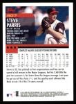 2000 Topps #407  Steve Parris  Back Thumbnail