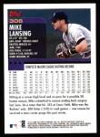 2000 Topps #306  Mike Lansing  Back Thumbnail