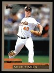2000 Topps #333  Mike Timlin  Front Thumbnail