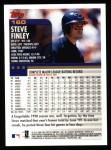 2000 Topps #160  Steve Finley  Back Thumbnail