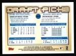 2000 Topps #455   -  Mike MacDougal / Brad Baker Draft Picks Back Thumbnail