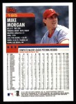 2000 Topps #195  Mike Morgan  Back Thumbnail