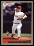 2000 Topps #195  Mike Morgan  Front Thumbnail