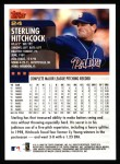 2000 Topps #24  Sterling Hitchcock  Back Thumbnail