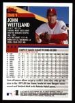 2000 Topps #381  John Wetteland  Back Thumbnail