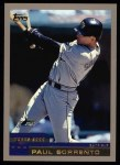 2000 Topps #91  Paul Sorrento  Front Thumbnail